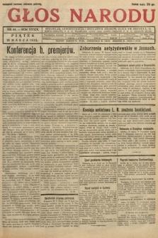 Głos Narodu. 1932, nr84