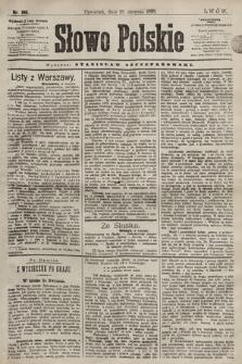 Słowo Polskie. 1898, nr195