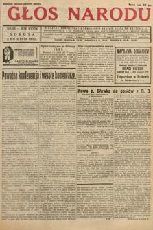 Głos Narodu. 1932, nr89