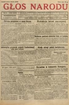 Głos Narodu. 1932, nr91