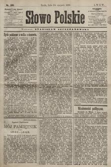 Słowo Polskie. 1898, nr200