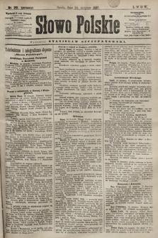 Słowo Polskie. 1898, nr201 (poranny)
