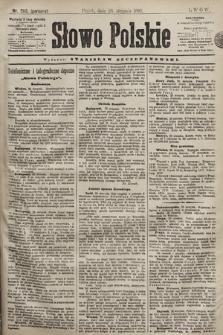 Słowo Polskie. 1898, nr203 (poranny)