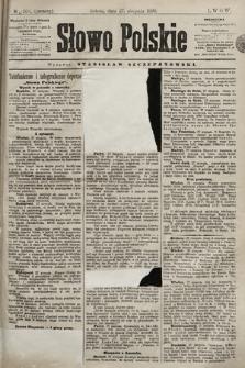 Słowo Polskie. 1898, nr204 (poranny)