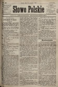 Słowo Polskie. 1898, nr206