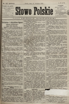 Słowo Polskie. 1898, nr207 (poranny)