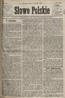 Słowo Polskie. 1898, nr207