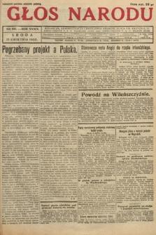 Głos Narodu. 1932, nr100
