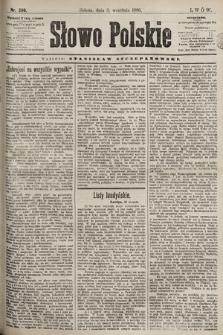 Słowo Polskie. 1898, nr209