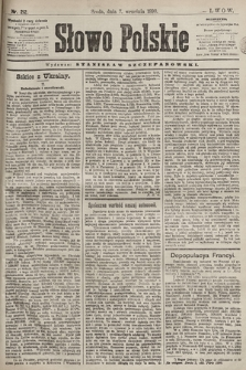 Słowo Polskie. 1898, nr212