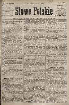 Słowo Polskie. 1898, nr213 (poranny)