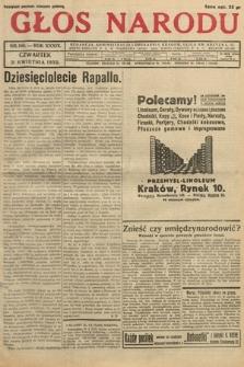 Głos Narodu. 1932, nr108