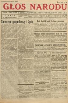 Głos Narodu. 1932, nr109