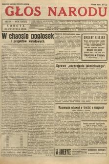 Głos Narodu. 1932, nr110