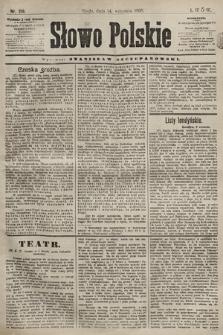 Słowo Polskie. 1898, nr219