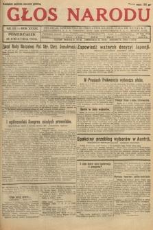 Głos Narodu. 1932, nr112