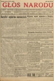 Głos Narodu. 1932, nr113