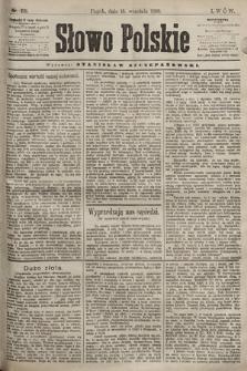 Słowo Polskie. 1898, nr221