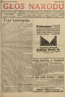 Głos Narodu. 1932, nr115