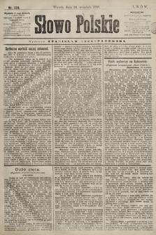 Słowo Polskie. 1898, nr224