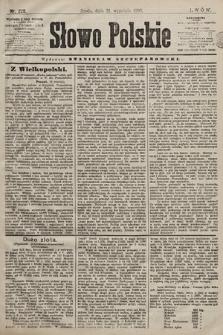 Słowo Polskie. 1898, nr225