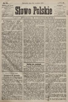 Słowo Polskie. 1898, nr226