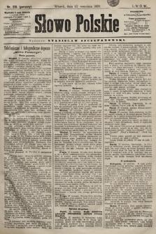 Słowo Polskie. 1898, nr231 (poranny)