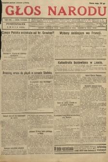 Głos Narodu. 1932, nr125