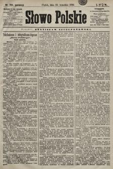 Słowo Polskie. 1898, nr234 (poranny)