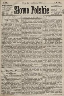 Słowo Polskie. 1898, nr234