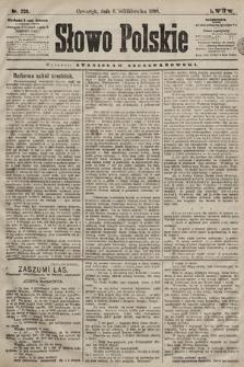 Słowo Polskie. 1898, nr238