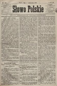 Słowo Polskie. 1898, nr239