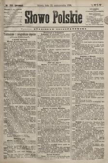 Słowo Polskie. 1898, nr253 (poranny)