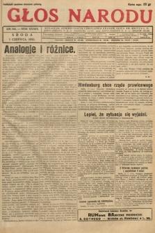 Głos Narodu. 1932, nr146