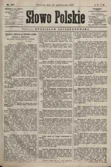 Słowo Polskie. 1898, nr253
