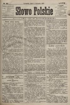 Słowo Polskie. 1898, nr262