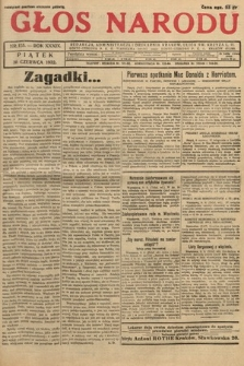 Głos Narodu. 1932, nr155