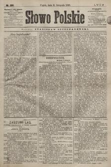 Słowo Polskie. 1898, nr269