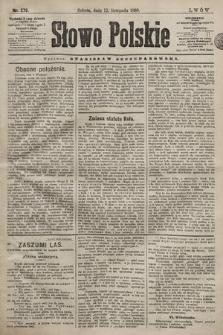 Słowo Polskie. 1898, nr270