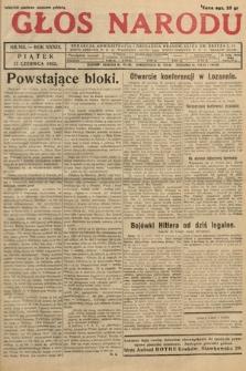 Głos Narodu. 1932, nr162