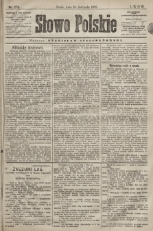 Słowo Polskie. 1898, nr273