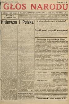 Głos Narodu. 1932, nr166