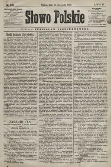 Słowo Polskie. 1898, nr275