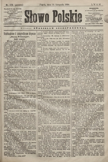Słowo Polskie. 1898, nr276 (poranny)