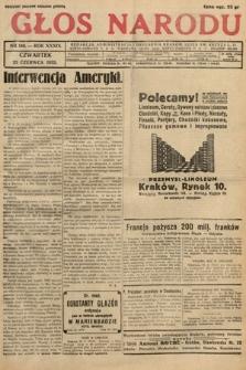 Głos Narodu. 1932, nr168