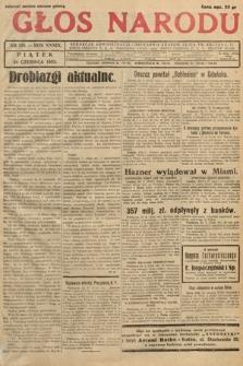 Głos Narodu. 1932, nr169