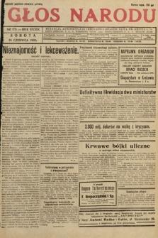 Głos Narodu. 1932, nr170