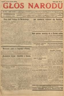 Głos Narodu. 1932, nr172