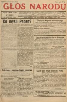 Głos Narodu. 1932, nr173