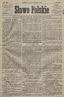 Słowo Polskie. 1898, nr283